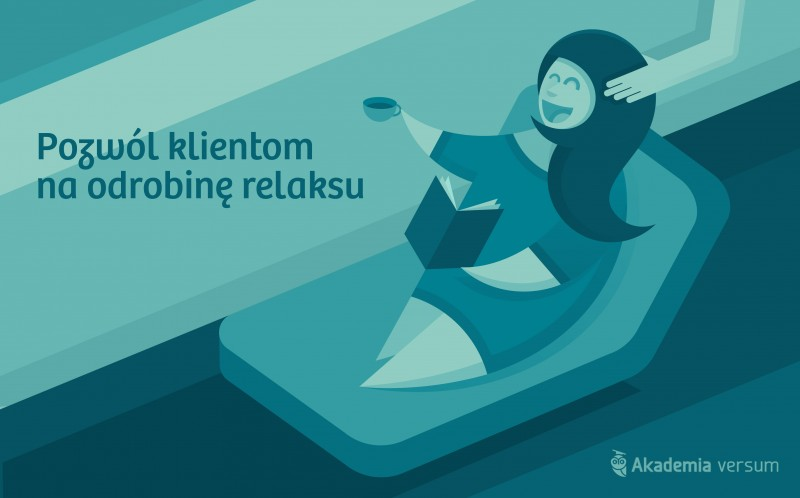 pozwol klientom na relaks